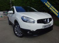 USED 2013 13 NISSAN QASHQAI 1.6 TEKNA IS DCIS/S 5d 130 BHP