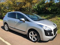 USED 2013 13 PEUGEOT 3008 1.6 ALLURE HDI FAP 5d 115 BHP ** NEW MOT**FULL SERVICE HISTORY**SUPERB FAMILY CAR**