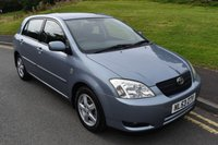 USED 2003 53 TOYOTA COROLLA 1.4 T3 VVT-I 5d 92 BHP 115,000 GUARANTEED MILES - MOT TILL SEPT 2019 - LOG MOT TEST