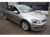 2013 VOLKSWAGEN GOLF 2.0 SE TDI BLUEMOTION TECHNOLOGY DSG 5d AUTO 148 BHP IN METALLIC SILVER WITH 1 OWNER, 56000 MILES AND FULL SERVICE HISTORY £8499.00