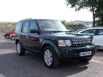 2012 LAND ROVER DISCOVERY 3.0 4 SDV6 XS 5d AUTO 255 BHP £16750.00