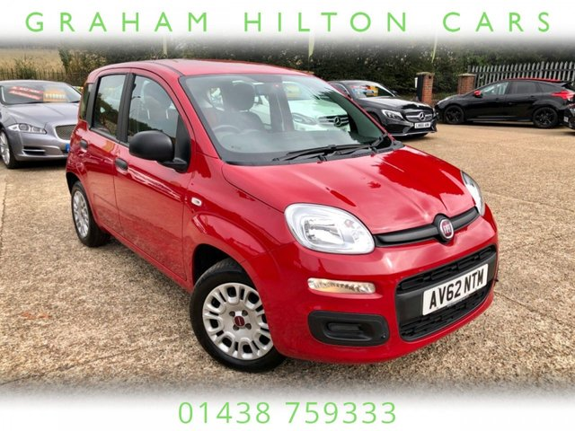 USED 2012 62 FIAT PANDA 1.2 POP 5d 69 BHP ONE FORMER KEEPER, LOW MILEAGE, NEW MOT, SERVICED, SERVICE HISTORY, SPARE KEY