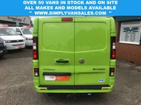 USED 2014 64 VAUXHALL VIVARO 1.6 CDTI SWB BAMBOO GREEN SPORTIVE TOP SPEC LOTS OF TOYS FSH
