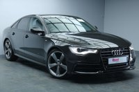 "USED 2013 13 AUDI A6 2.0 TDI BLACK EDITION 4d AUTO 175 BHP 20""ALLOYS+1 OWNER+FULL AUDI SERVICE HISTORY+LEATHER+NAV+PARKING SENSORS+PRIV GLASS+CRUISE CONTROL"