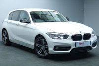 "USED 2015 65 BMW 1 SERIES 1.6 118I SPORT 5d 134 BHP 17""ALLOYS+NAV+PARK SENSORS+BLUETOOTH+PRIV GLASS+CLIMATE CONTROL"