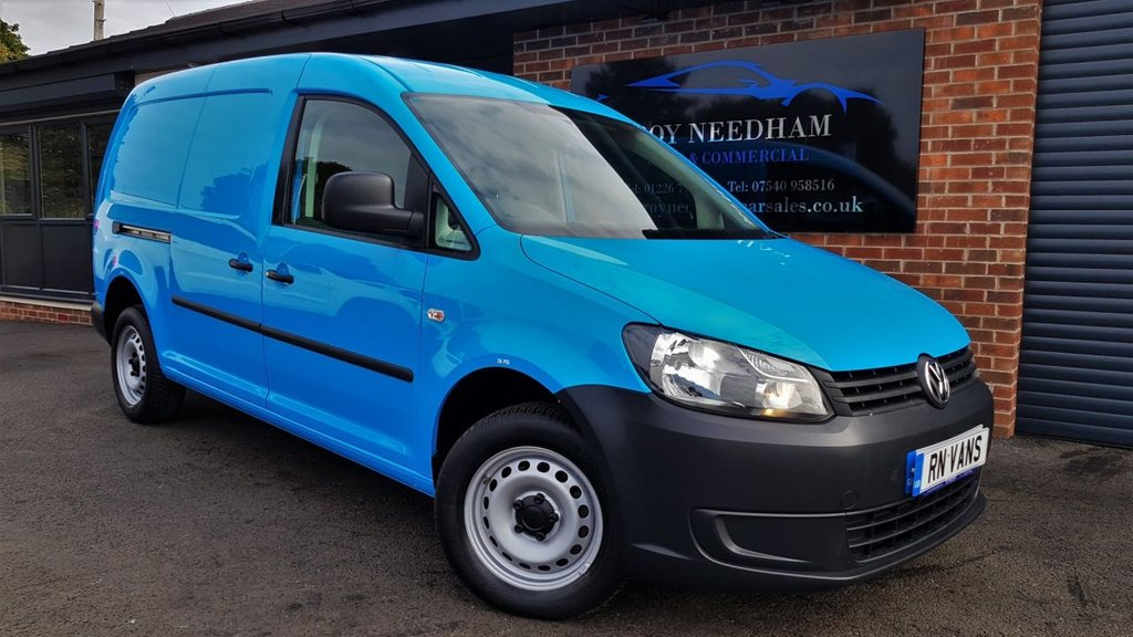USED 2013 13 VOLKSWAGEN CADDY MAXI 1.6 C20 TDI 101 BHP *** EX BRITISH GAS - FULLY PREPARED - RACKING ***
