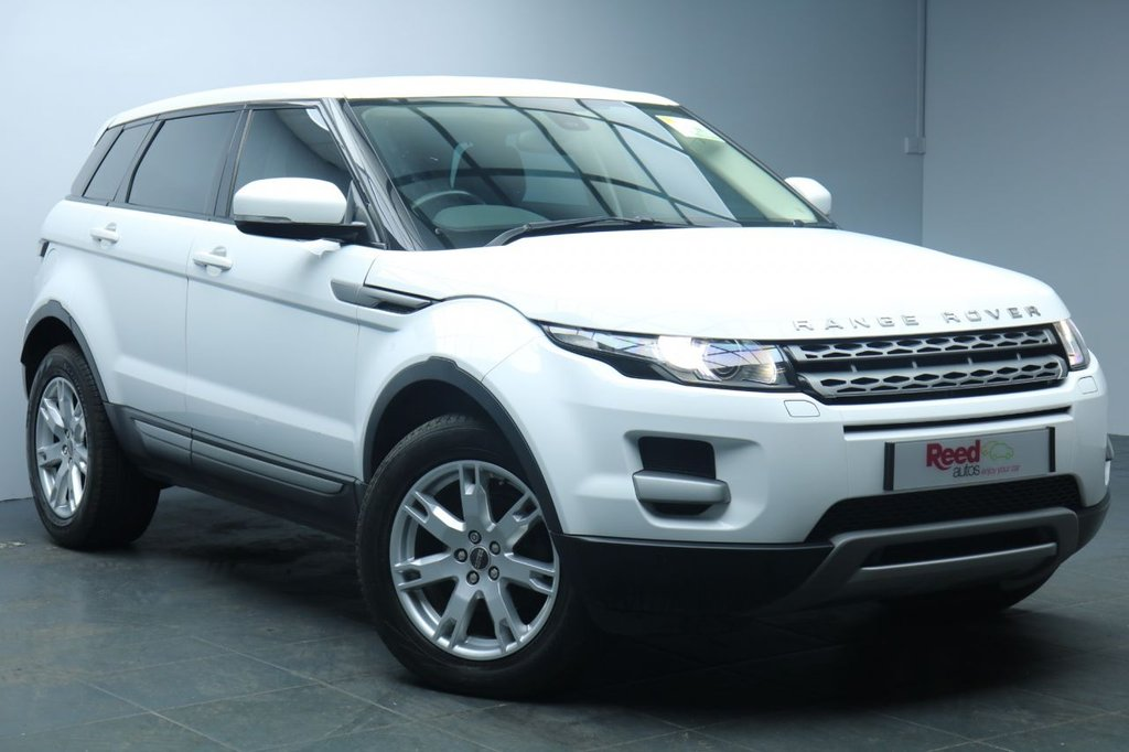 """USED 2012 12 LAND ROVER RANGE ROVER EVOQUE 2.2 ED4 PURE TECH 5d 150 BHP 18"""" ALLOYS+SAT NAV+LEATHER SEATS+PARKING SENSORS+HEATED FRONT SEATS+CRUISE CONTROL+PRIVACY GLASS"""