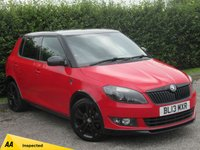 USED 2013 13 SKODA FABIA 1.2 MONTE CARLO 12V 5d * RECENTLY SERVICED * MOT TO AUGUST 2020 *