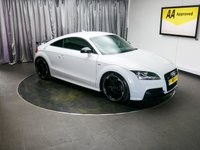 USED 2013 13 AUDI TT 2.0 TDI QUATTRO BLACK EDITION 2d 168 BHP £0 DEPOSIT FINANCE AVAILABLE, AIR CONDITIONING, AUDI NAVIGATION PLUS, AUTOMATIC HEADLIGHTS, AUX INPUT, BOSE SOUND SYSTEM, CLIMATE CONTROL, CRUISE CONTROL, HEATED SEATS, PRIVACY GLASS, STEERING WHEEL CONTROLS, TRIP COMPUTER