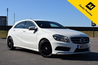 2015 MERCEDES-BENZ A CLASS 1.6 A200 BLUEEFFICIENCY AMG SPORT 5d 156 BHP £14740.00