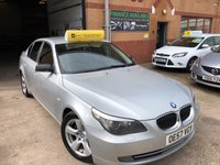 USED 2008 57 BMW 5 SERIES 3.0L 525D SE 4d AUTO 195 BHP