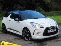 USED 2014 14 CITROEN DS3 1.6 E-HDI DSTYLE PLUS 3d 90 BHP JUST BEEN SERVICED, MOT 7/20
