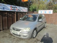 USED 2004 53 VAUXHALL CORSA 1.2 SXI 16V 3d 75 BHP SEE FINANCE LINK FOR DETAILS