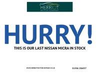 USED 2014 64 NISSAN MICRA 1.2 VISIA 5d 79 BHP