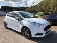 2014 FORD FIESTA 1.6 ST-2 3d WITH STYLE PACK AND HISTORY £8000.00