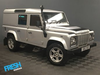 2012 LAND ROVER DEFENDER 110 2.2 TD COUNTY UTILITY WAGON  £16000.00