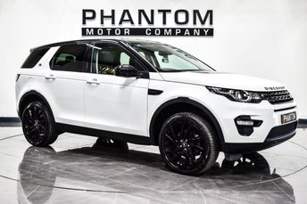 2016 LAND ROVER DISCOVERY SPORT 2.0 TD4 HSE BLACK 5d AUTO 180 BHP £23990.00