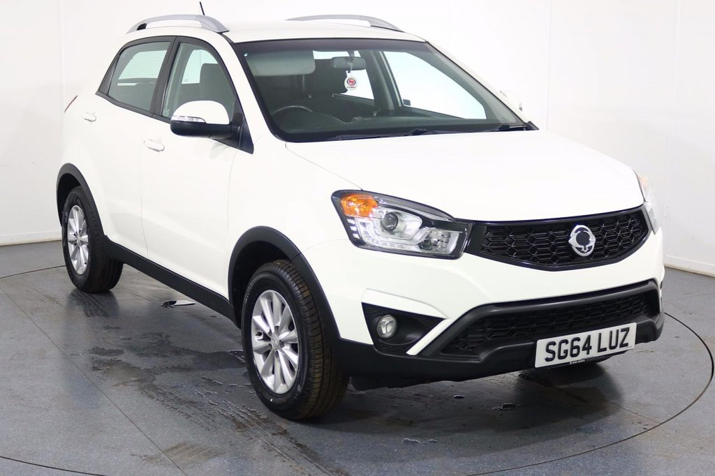 USED 2014 64 SSANGYONG KORANDO 2.0 SE 5d 147 BHP 2 OWNERS From New with 4 Stamp SERVICE HISTORY