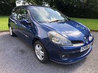 USED 2005 55 RENAULT CLIO 1.4 DYNAMIQUE 16V 3d 98 BHP