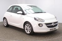 USED 2014 64 VAUXHALL ADAM 1.2 JAM 3DR 69 BHP VAUXHALL SERVICE HISTORY + BLUETOOTH + CRUISE CONTROL + MULTI FUNCTION WHEEL + AIR CONDITIONING + DAB RADIO + ELECTRIC WINDOWS + RADIO/CD/AUX/USB + ELECTRIC MIRRORS + 16 INCH ALLOY WHEELS
