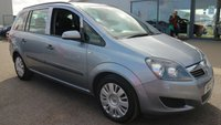 USED 2009 09 VAUXHALL ZAFIRA 1.6 LIFE 16V 5d 105 BHP LOW DEPOSIT OR NO DEPOSIT FINANCE AVAILABLE