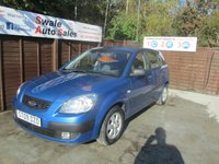 USED 2009 09 KIA RIO 1.4 CHILL 5d 96 BHP FINANCE AVAILABLE FROM £27 PER WEEK OVER TWO YEARS - SEE FIANCE LINK FOR DETAILS
