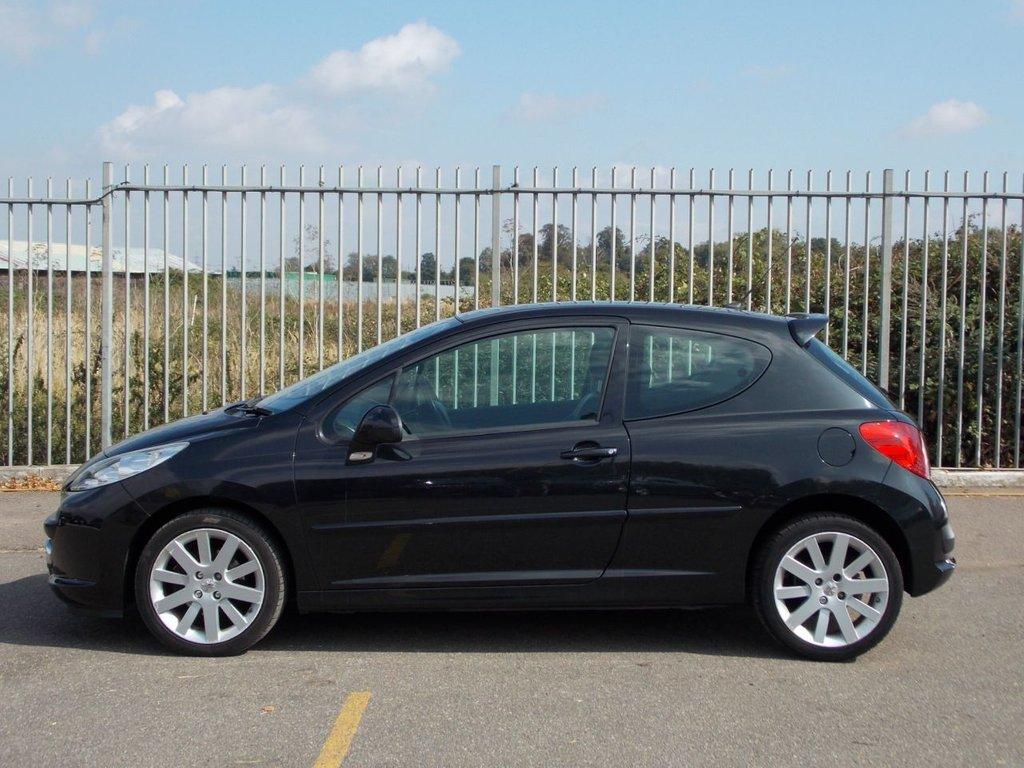 USED 2006 56 PEUGEOT 207 1.6 GT 3d 148 BHP