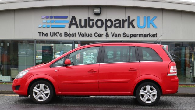 USED 2011 11 VAUXHALL ZAFIRA 1.7 EXCLUSIV CDTI ECOFLEX 5d 108 BHP LOW DEPOSIT OR NO DEPOSIT FINANCE AVAILABLE
