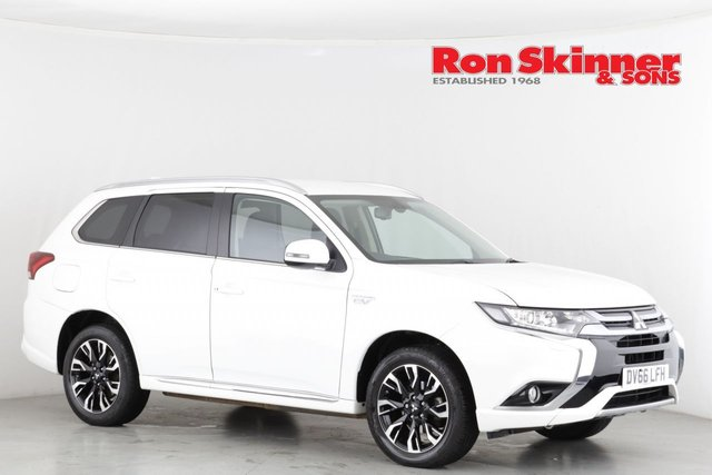 View our 2016 66 MITSUBISHI OUTLANDER 2.0 PHEV GX 3H PLUS 5d AUTO 161 BHP
