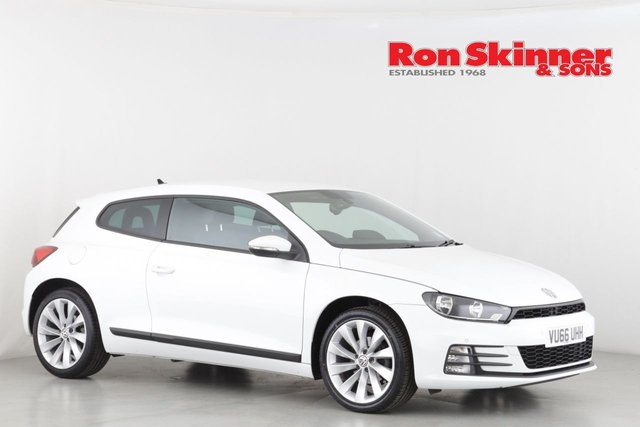 View our 2016 66 VOLKSWAGEN SCIROCCO 1.4 GT TSI BLUEMOTION TECHNOLOGY 2d 123 BHP