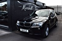 USED 2011 11 BMW X3 2.0 XDRIVE20D SE 5d 181 BHP LOVELY CAR INSIDE AND OUT - 8 STAMPS TO 90K - 4X4 XDRIVE - KEYLESS START - BLUETOOTH - FULL LEATHER