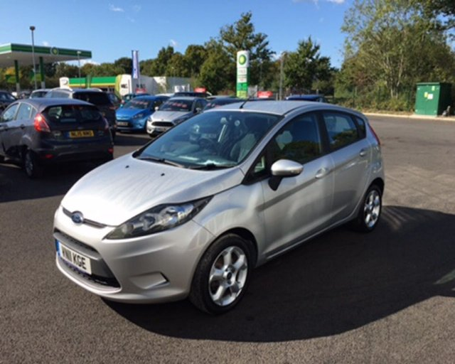 2011 11 FORD FIESTA 1.25 EDGE