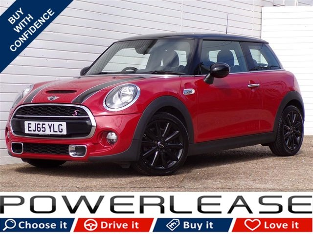 USED 2015 65 MINI HATCH COOPER 2.0 COOPER S 3d 189 BHP PRONAV HARMON/K HEATED SEATS
