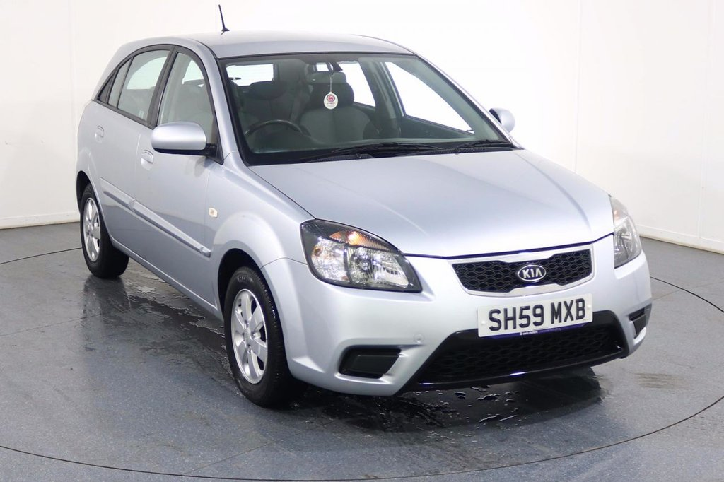 USED 2009 59 KIA RIO 1.4 STRIKE 5d 96 BHP ONE OWNER with 6 Stamp SERVICE HISTORY