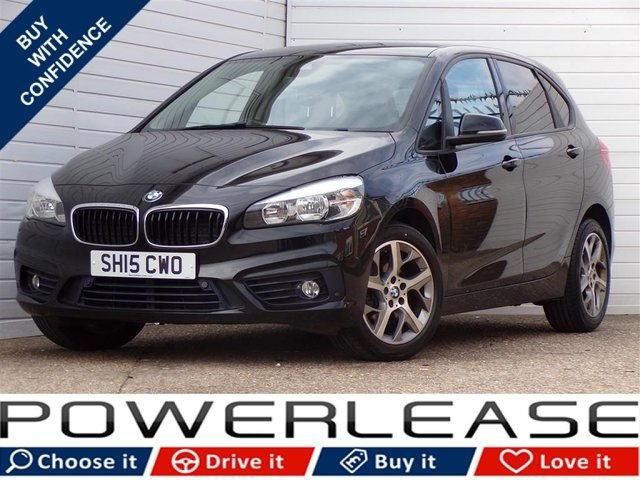 USED 2015 15 BMW 2 SERIES 1.5 216D SPORT ACTIVE TOURER 5d 114 BHP FREE TAX PARK ASSIST DAB RADIO
