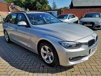 USED 2015 15 BMW 3 SERIES 2.0 320D EFFICIENTDYNAMICS TOURING 5d 161 BHP FSH+SATNAV+CRUISE+B/T+ALLOYS