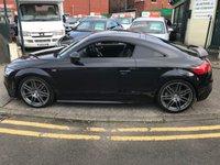USED 2011 11 AUDI TT 2.0 TFSI BLACK EDITION 2d 208 BHP
