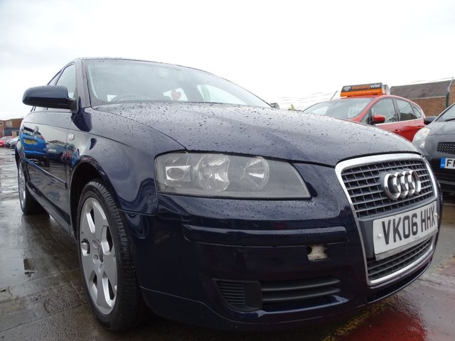 USED 2006 06 AUDI A3 2.0 TDI SE 5d 138 BHP LONG MOT DRIVES WELL