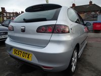 USED 2007 57 SEAT IBIZA 1.4 SPORT FSH DRIVES A1 1 YEAR MOT