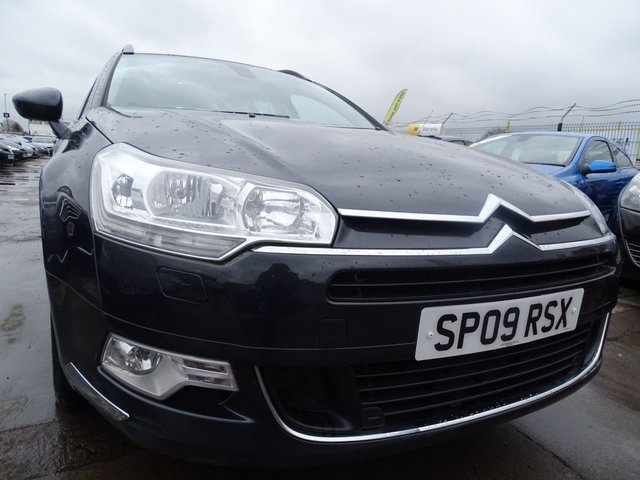 USED 2009 09 CITROEN C5 2.0 VTR PLUS HDI 5d AUTOMATIC 138 BHP DRIVES A1