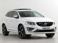 USED 2016 16 VOLVO XC60 XC60 R-DESIGN LUX NAV D5 AWD [£5,550 OF OPTIONS] ADAPTCRUISE PANROOF CAM WINTER