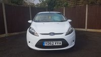 USED 2012 62 FORD FIESTA 1.2 STYLE 5d 59 BHP ELECTRIC PACK, BLACK WHEELS