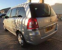 USED 2011 11 VAUXHALL ZAFIRA 1.6 ENERGY 5d 113 BHP