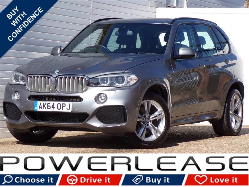 USED 2014 64 BMW X5 3.0 XDRIVE40D M SPORT 5d AUTO 309 BHP HEATED MEMORY SEATS PRO NAV