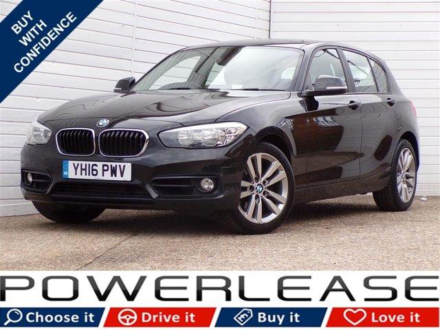 USED 2016 16 BMW 1 SERIES 2.0 120D SPORT 5d 188 BHP SAT NAV DAB 30 POUND TAX FSH