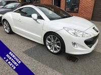 """USED 2012 62 PEUGEOT RCZ 2.0 HDI GT 2DOOR 163 BHP Sat Nav   :   USB   :   Cruise Control / Speed Limiter   :   Phone Bluetooth Connectivity     Climate Control / Air Con   :   Heated & Electric Front Seats   :   Full Black Leather Upholstery      Rear Parking Sensors   :   19"""" Alloy Wheels   :   2 Keys   :   Service History"""