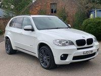 2013 BMW X5 3.0 XDRIVE30D M SPORT 5d AUTO 241 BHP £16995.00