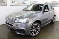 USED 2017 66 BMW X5 3.0 40d M Sport Auto xDrive (s/s) 5dr 7 SEATS! HEADS UP! REAR DVD'S!