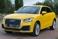 USED 2017 17 AUDI Q2 1.4 TFSI CoD S line (s/s) 5dr 19'ALLOY+PARK AID+SOLID YELLOW