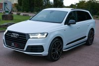 USED 2017 17 AUDI Q7 3.0 TDI V6 S line Tiptronic quattro (s/s) 5dr NAV+22' ALLOYS+HEATED SEAT